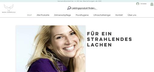 Der Zahnpflege- und Zahnersatzpflegeshop für Endverbraucher / Privatkunden