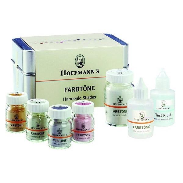 Hoffmanns Farbtöne (Harmonic Shades) Zement-Set für Oxidkeramik
