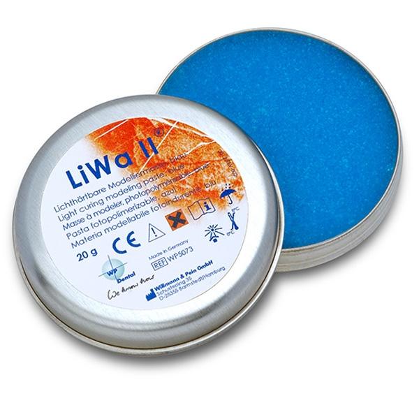LiWa lichthärtender Kunststoff festere Konsistenz 20g blau WP5073