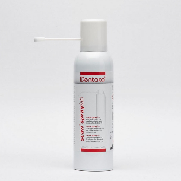 scan`spray lab 200 ml Spraydose mit Punktfeindüse Dentaco