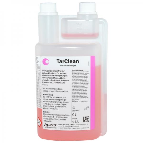TarClean Prothesenreiniger 1 L Dosierflasche REF 3077 ALPRO MEDICAL
