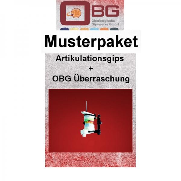 Musterpaket Artikulationsgips OBG