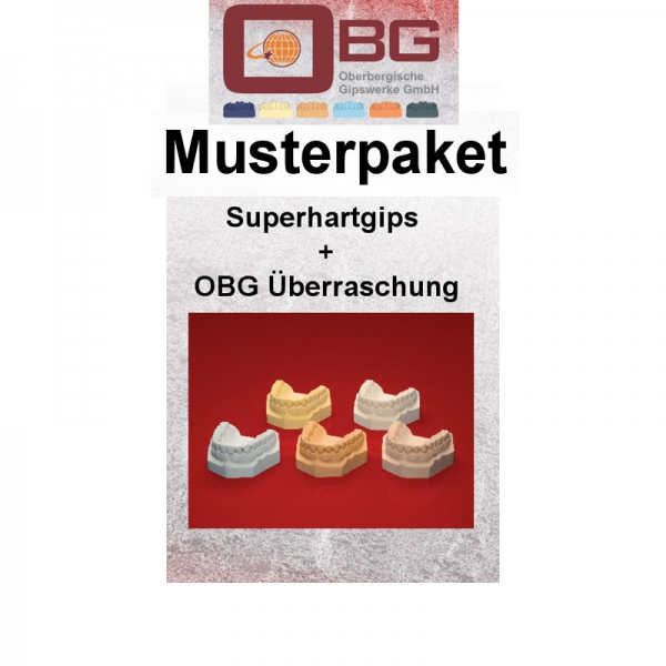 Musterpaket Superhartgips OBG