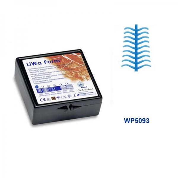 LiWa Form Vorgeformt als Molaren Klammern 10 x 18 Stück WP5093