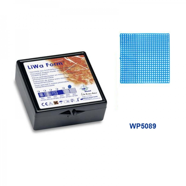 LiWa Form Retentionsgitter, quadratische Löcher 10 Stück WP5089