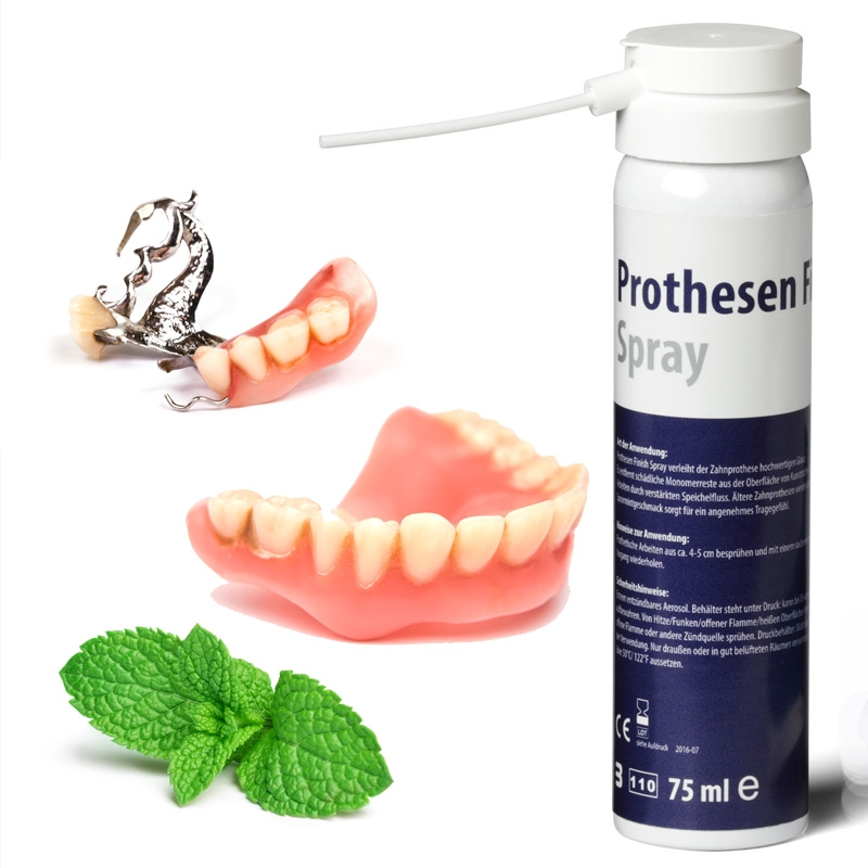 1099c5844fd6c1 MyDental Prothesen-Pflegespray 75 ml Sprayflasche