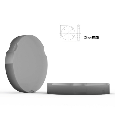 HPdent Wax Press 95 Fräswachs für Guss- und Presstechnik Zirkonzahn