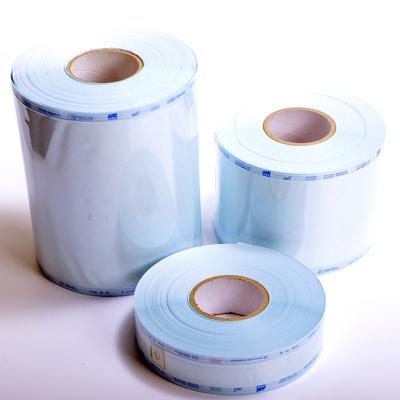 Medi Pack Sterilisationsfolie 100 m Rolle 200 mm breit mit Falte