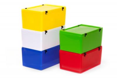 Speiko Transport-Container Größe 3 mit Deckel verschiedene Farben