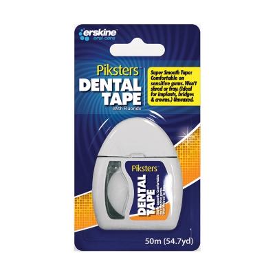 Piksters fluoridiertes Zahnzwischenraumband Rolle 50 m
