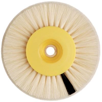 HATHO Einlagebürsten Nr. 9280 (Ø 80 mm) mit Scotch Brite Einlage weiß 12 Stück