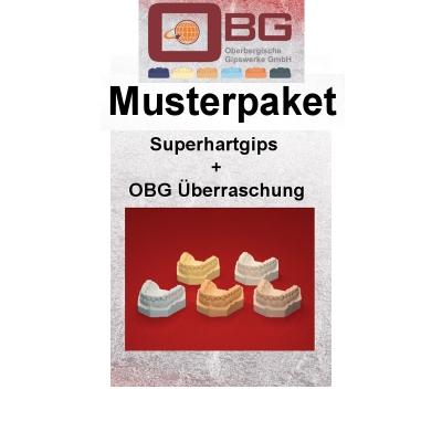 Musterpaket Superhartgips OBG